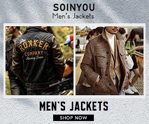 Soinyou mens retro jackets