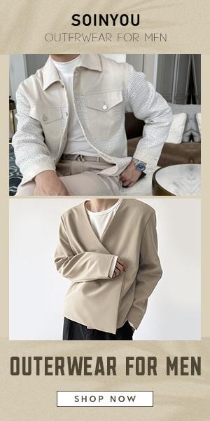 Soinyou men outerwear