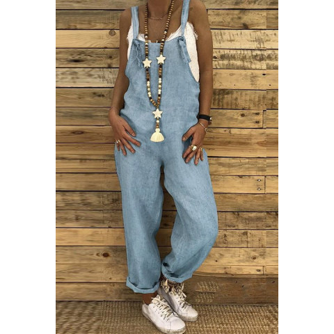 Image of Hemp cotton jumpsuit