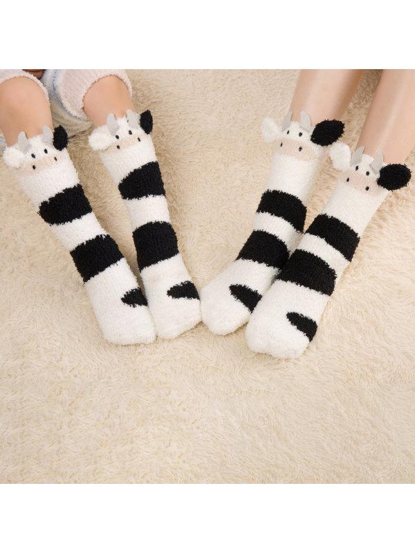 Mom And Child Cute Pattern Matching Socks