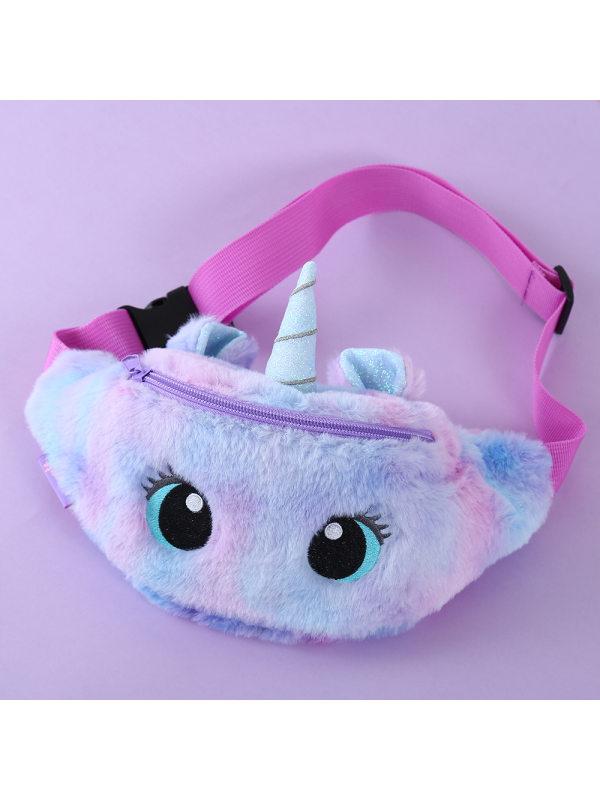 Cute Unicorn Big Eyes Plush Bag