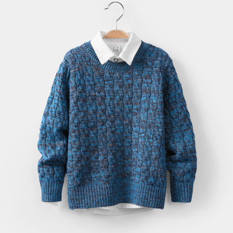 Boys autumn and winter long sleeved sweater
