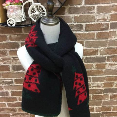 Autumn and winter knitted warm all match Japanese scarf