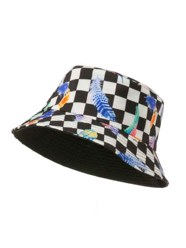 Kids Fashion Plaid Hat