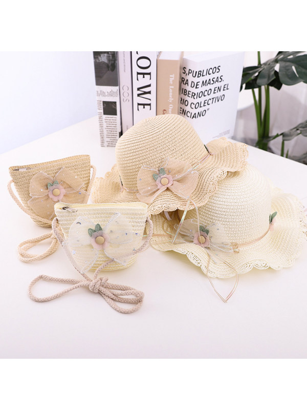 Sweet Bow Hat and Bag Set