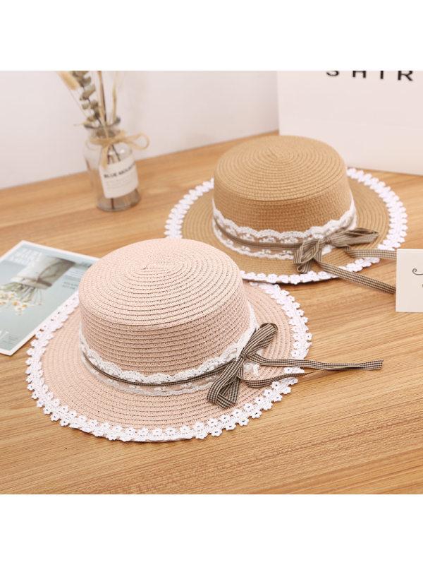 Sweet Mom Girl Matching Straw Hat