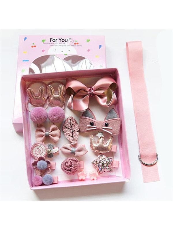 Hair Accessories 18-piece Gift Box