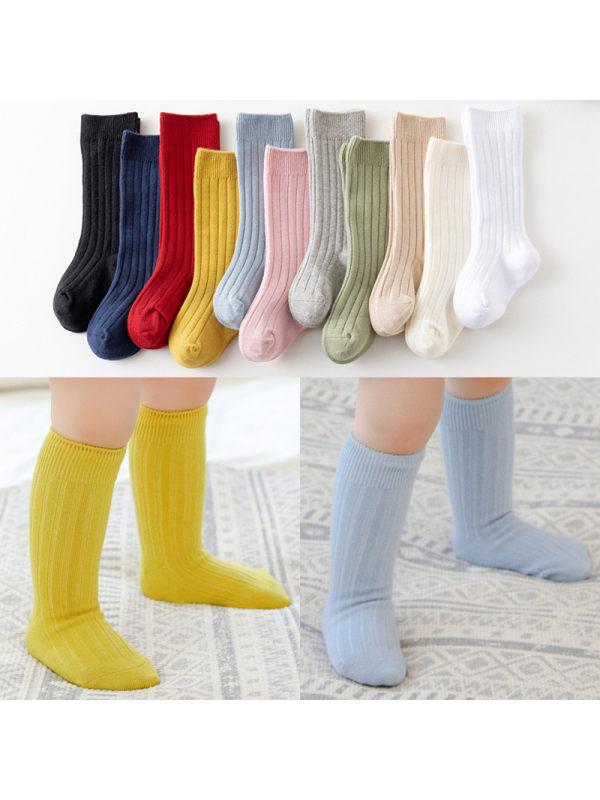 11-color Double-needle Plain Pit Stockings