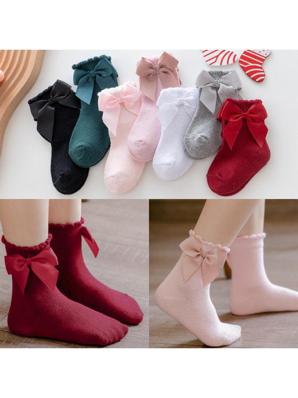 Big Bow Little Princess Socks