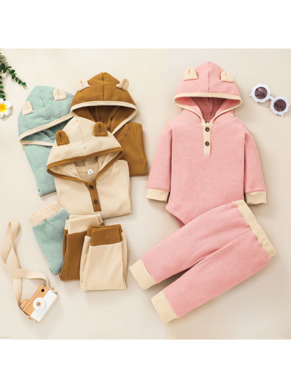 【3M-24M】Baby Casual Style Regular Set