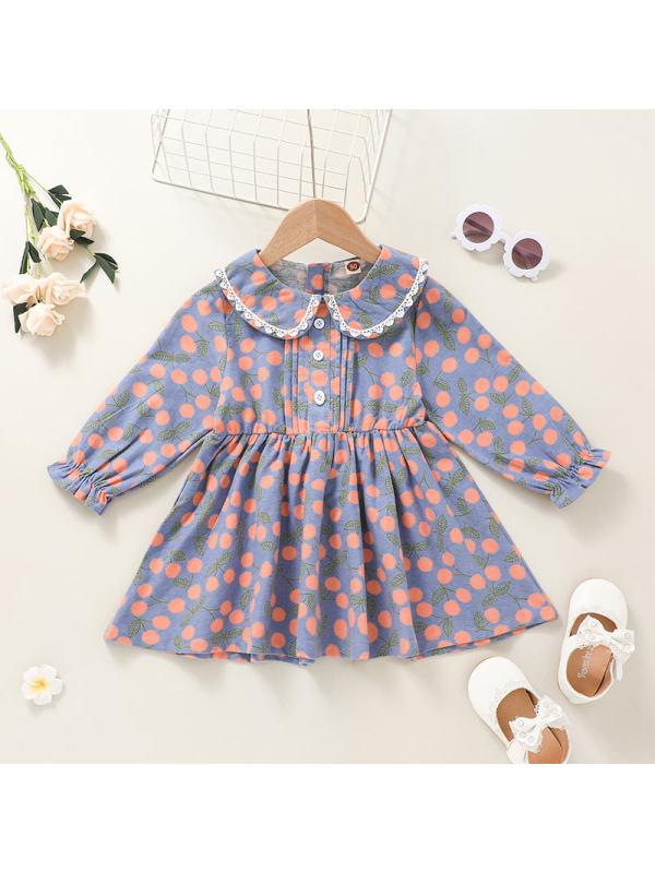 【18M-6Y】Girl Little Floral Sweet Dress