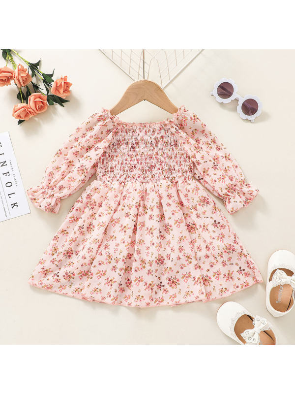 【3M-3Y】Girl Little Floral Sweet Dress