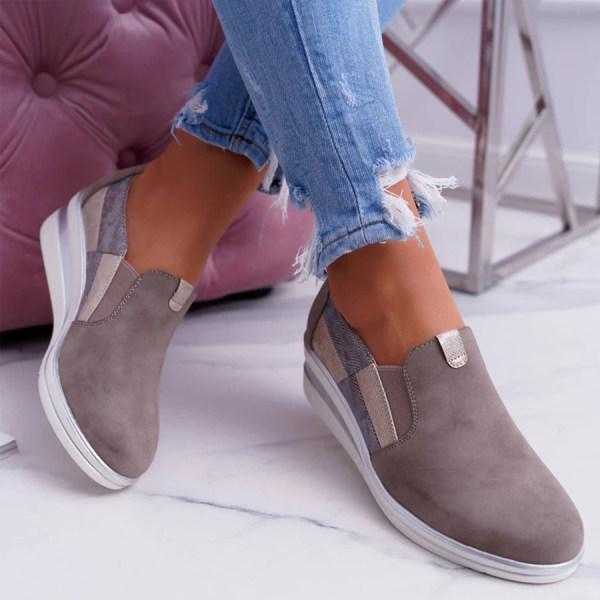 Round Toe Sneakers
