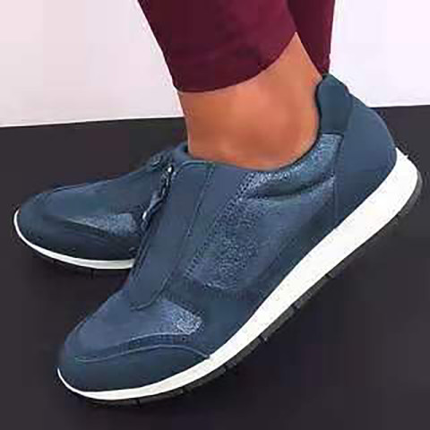 Casual round toe lightweight and comfortable womens shoes
