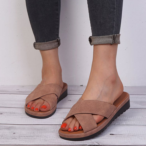 Casual and comfortable platform open toe sandals