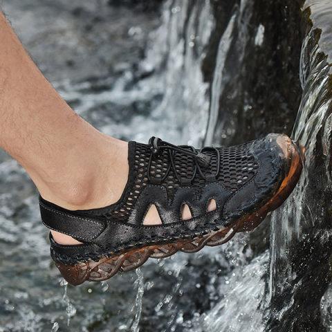 Men's Beach Casual Hollow Sandals