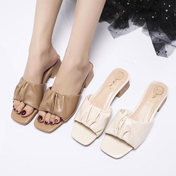 Women's Fashion Low Heel Slippers