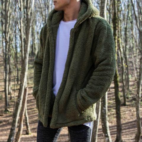Fashion Mens Warm Wool Outerwear - $47.62