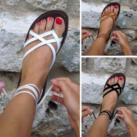 Womens Casual Flat Sandals