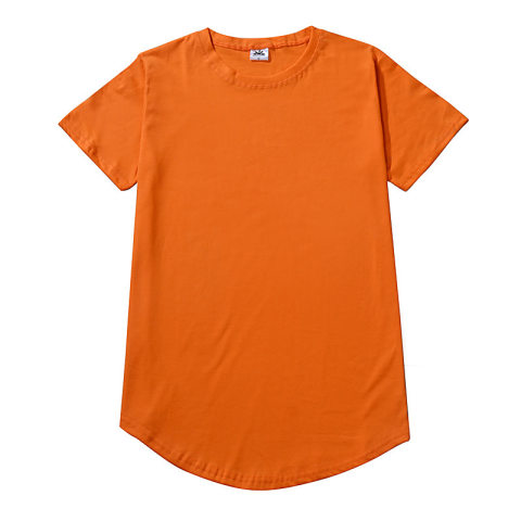 Mens solid color casual short sleeve T shirt