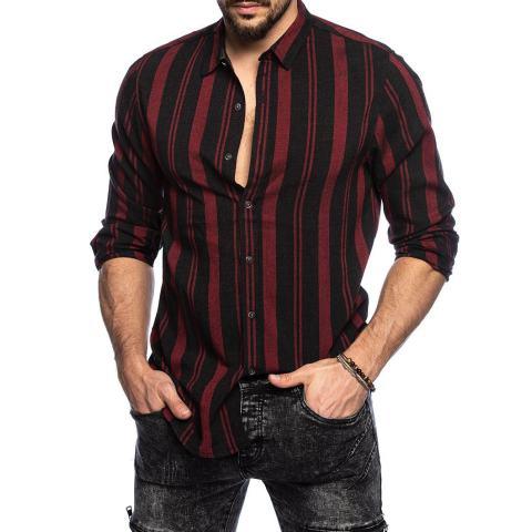 Casual striped shirt