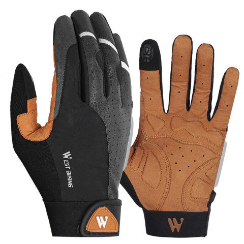 Riding touch screen gloves