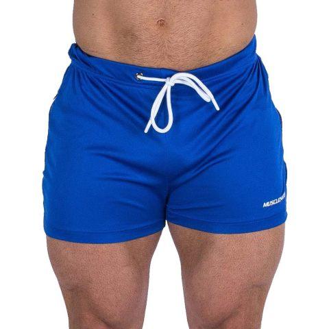 Summer mesh sports fitness shorts