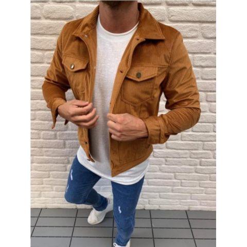 MenS Lapel Oversized Casual Jacket