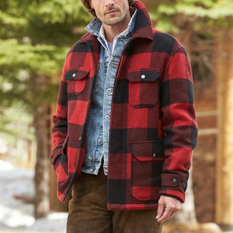 Buffalo hunting plaid jacket gorsuch