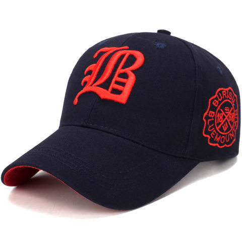 Fashion embroidery sports and leisure baseball cap