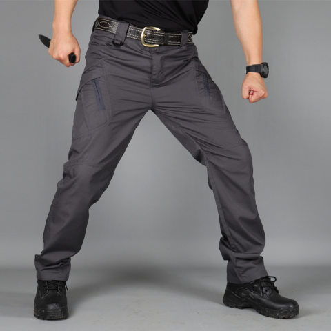 Outdoor Training Pants Military Fans Loose Multi-bag Multi-functional Tactical Pants