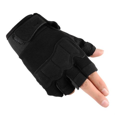 New Non-Slip Tactical Half Finger Gloves