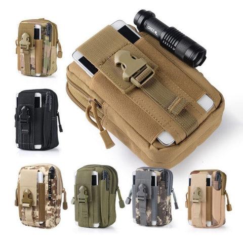 Archon Outdoor Sports Tactical Belt Bag Mobile Phone Debris Hanging Bag Riding Tactical Bag