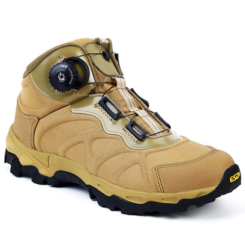 Outdoor Light Hiking Shoes Automatic Buckle Tactical Shoes