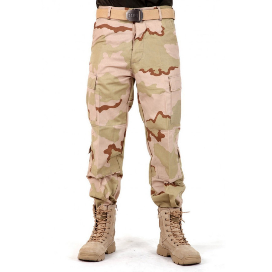 Image of Outdoor Camouflage Sports Training Tactical Pants