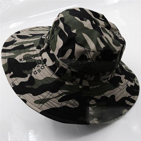 Summer Camouflage Sunhat Climbing Sun Hat