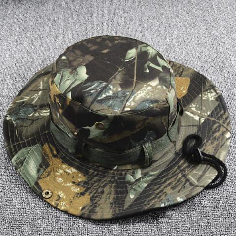 Outdoor Men's Summer Camouflage boonie hat