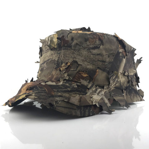 Sunscreen Quick-drying Hat Jungle Leaves Camouflage Fishing