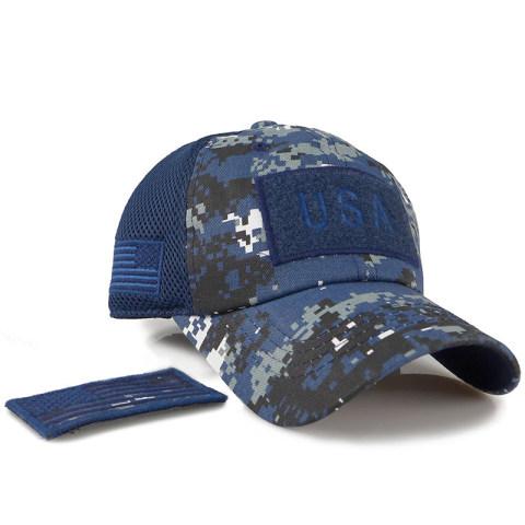 Mesh Camouflage Baseball Cap
