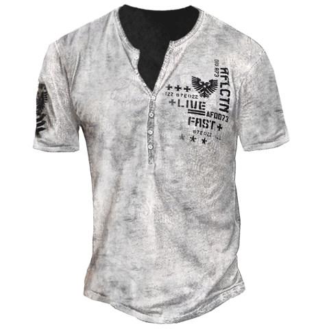 Mens Outdoor Value Freedom Dusk Print T-shirt