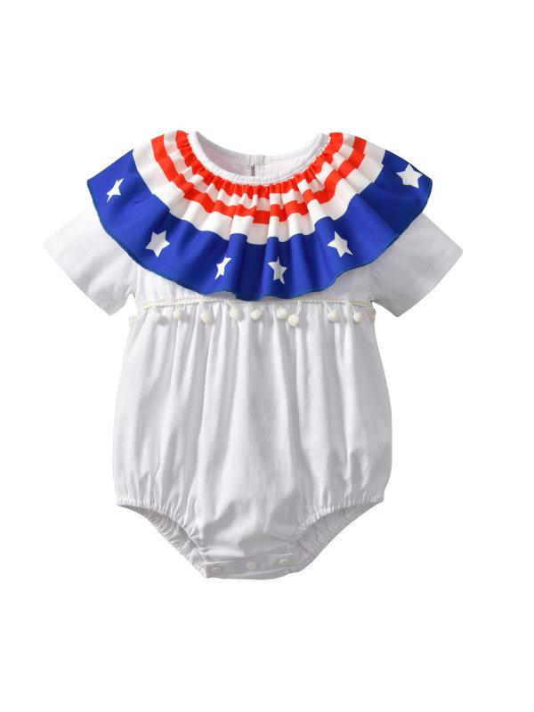 【6M-2.5Y】Infant Short-sleeved Romper