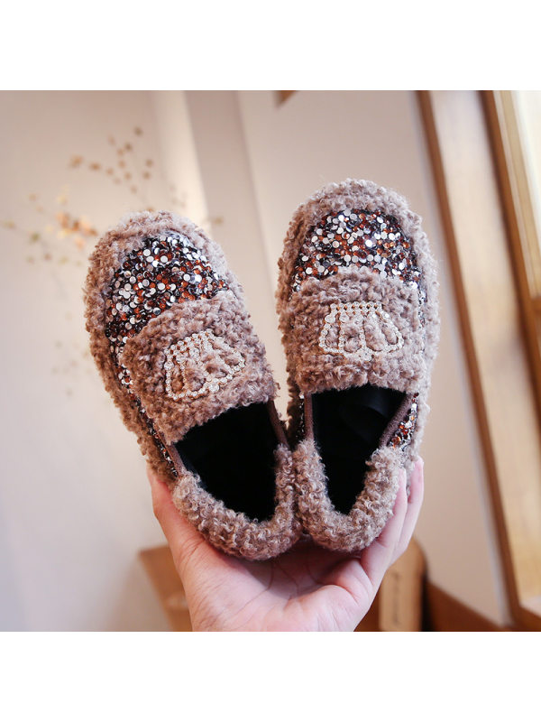 Girl Cute Crown Flat Shoes