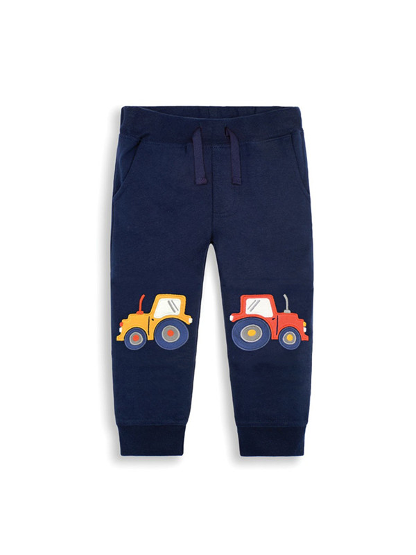 【12M-7Y】Boys Open Car Print Pants