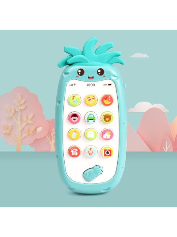 Telephone Educational Teether Phone Baby Bilingual Teaching