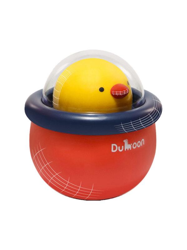 Kids Little Cute Chicken Tumbler Music Rattle Toy