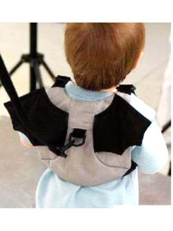 Childrens 2-Color Ladybug Anti-Lost Backpack