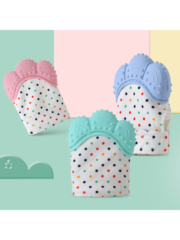 Baby Voice Teether Anti-Bite Teething Gloves