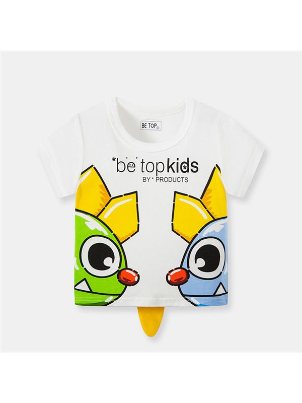 【18M-9Y】Kids Summer Boy Baby Short-sleeved T-shirt