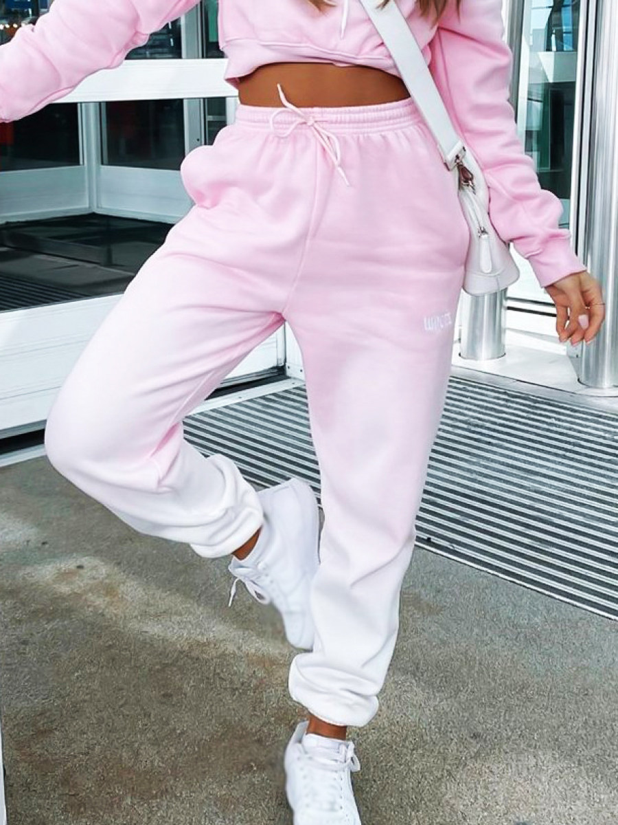 Image of Pink gradient track pants