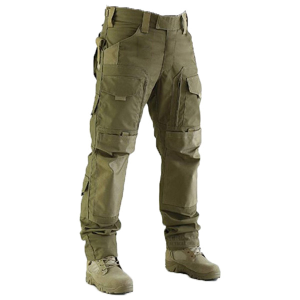 Men's Fashion Solid Color Outdoor Tactical Trousers